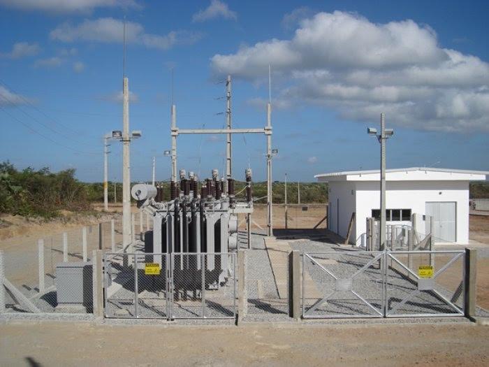 PROJETOS E CONSTRUÇÃO DE SUBESTAÇÃO DE ENTRADA DE ENERGIA
