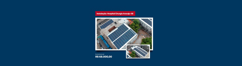 Instalação Hospital Cirurgia Aracaju-SE