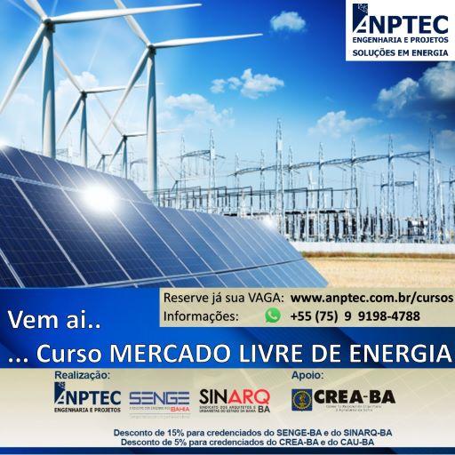 CADASTRO DE RESERVA – Curso de Mercado Livre de ENERGIA